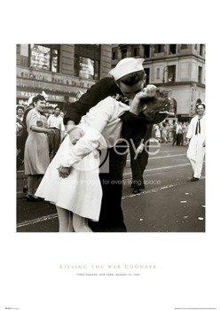plakat KISSING THE WAR GOODBYE S.O.S