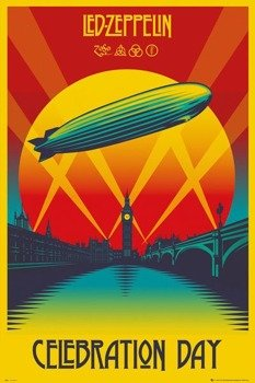 plakat LED ZEPPELIN - CELEBRATION DAY