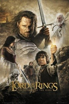plakat LORD OF THE RINGS - RETURN OF THE KING - ONE SHEET