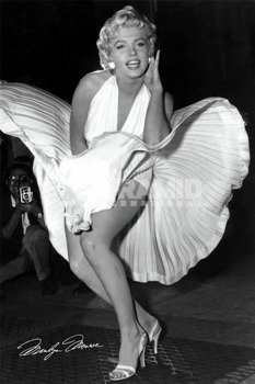 plakat MARILYN MONROE (SEVEN YEAR ITCH)