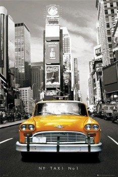 plakat NEW YORK - TAXI NO 1