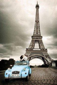 plakat PARIS ROMANCE