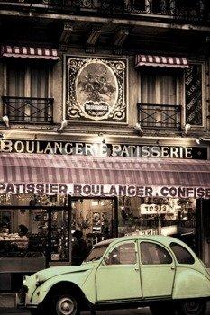 plakat PARISIAN PATISSERIE