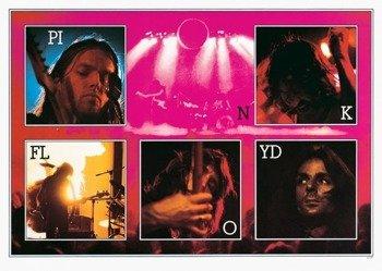 plakat PINK FLOYD - LIVE