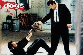 plakat RESERVOIR DOGS (WŚCIEKŁE PSY) - GUNS