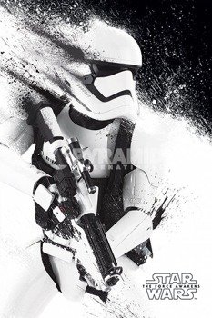 plakat STAR WARS - EPISODE VII (STORMTROOPER PAINT)