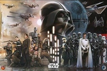 plakat STAR WARS - REBELS vs EMPIRE