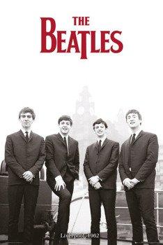plakat THE BEATLES - LIVERPOOL '62