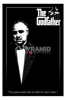 plakat THE GODFATHER - RED ROSE