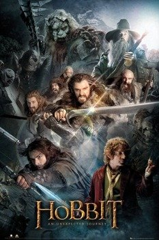 plakat THE HOBBIT - COLLAGE