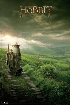 plakat THE HOBBIT - GANDALF
