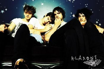 plakat THE KLAXONS - GROUP