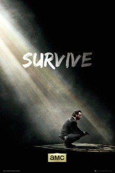 plakat THE WALKING DEAD - SURVIVE