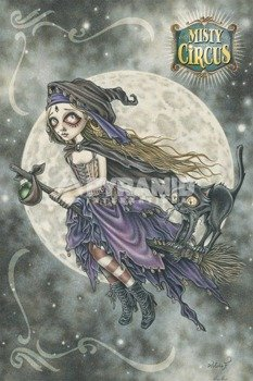 plakat VICTORIA FRANCES - MISTY CIRCUS - FLIGHT OF THE SORCERESS