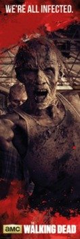 plakat na drzwi THE WALKING DEAD - ZOMBIES