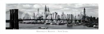 plakat panoramiczny BROOKLYN BRIDGE - NEW YORK