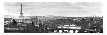 plakat panoramiczny PARIS