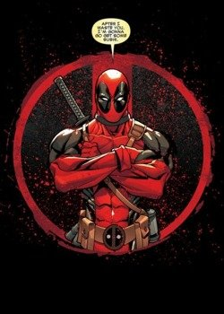 plakat z metalu MARVEL - DEADPOOL - EVENING PLANS