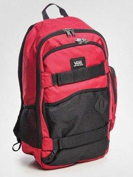 plecak VANS - TRANSIENT II RED BLACK