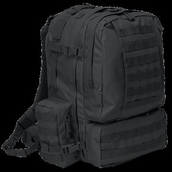 plecak taktyczny US COOPER 3 DAY - BLACK, 50 litrów