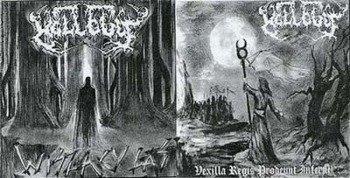 płyta CD: HELLCULT - WISZĄCY LAS / VEXILLA REGIS PRODEUNT INFERNI