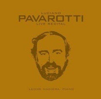 płyta CD: LUCIANO PAVAROTTI, LEONE MAGIERA - LIVE RECITAL