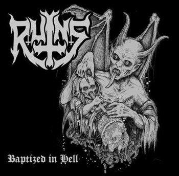 płyta CD: RUINS - BAPTIZED IN HELL