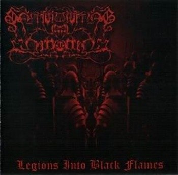 płyta CD: SMOULDERING IN FORGOTTEN - LEGIONS INTO BLACK FLAMES