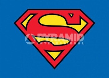 pocztówka SUPERMAN - CLASSIC LOGO