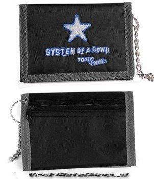 portfel SYSTEM OF A DOWN - TOXIC TWINS