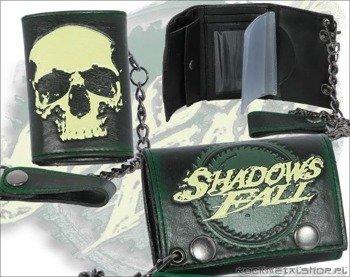 portfel skórzany SHADOW FALL - SKULL LOGO