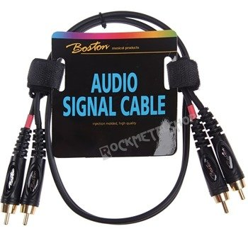 przewód audio BOSTON: 2 x RCA (cinch) - 2 x RCA (cinch) / 30cm