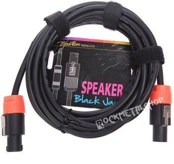"""przewód głośnikowy BOSTON """"Black Jack"""": SPEAKON - SPEAKON / 2m"""