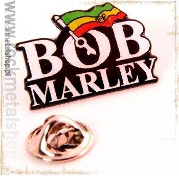 przypinka BOB MARLEY