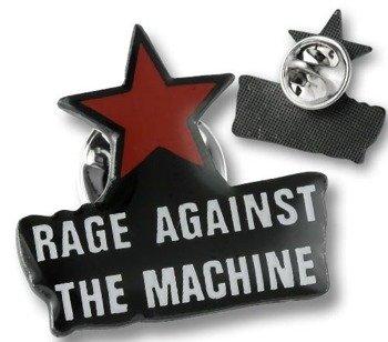 przypinka RAGE AGAINST THE MACHINE