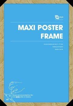 rama do plakatu MAXI 61x91.5 dąb