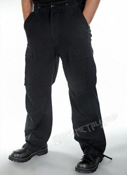 spodnie bojówki M65 VINTAGE black