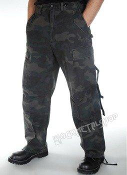 spodnie bojówki M65 VINTAGE darkcamo
