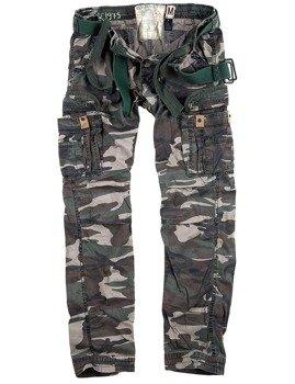 spodnie bojówki PREMIUM TROUSERS SLIMMY WOODLAND