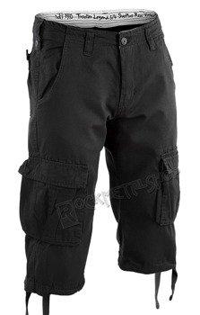 spodnie bojówki krótkie TROOPER LEGEND 3/4 - SCHWARZ