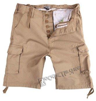 spodnie bojówki krótkie VINTAGE BEIGE
