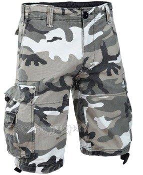 spodnie bojówki krótkie VINTAGE SHORTS - URBAN