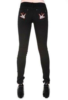 spodnie damskie BANNED - SWALLOWS