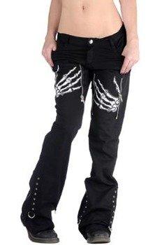 spodnie damskie LIVING DEAD SOULS (BLACK)