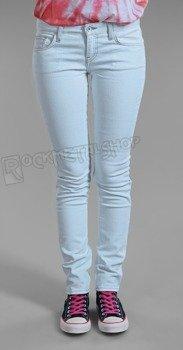 spodnie damskie VANS - SKINNY DENIM WASHED OUT BLUE