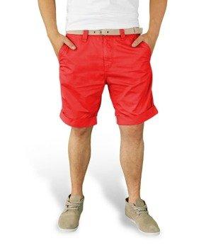 spodnie krótkie XYLONTUM CHINO SHORTS RED