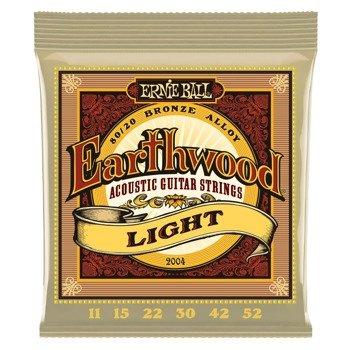struny do gitary akustycznej ERNIE BALL Earthwood 80/20 Bronze EB2004 /011-052/