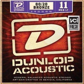 struny do gitary akustycznej JIM DUNLOP - BRONZE MED /011-052/ (DAB1152)