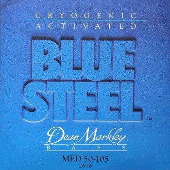struny do gitary basowej DEAN MARKLEY - BLUE STEEL MED 50-105