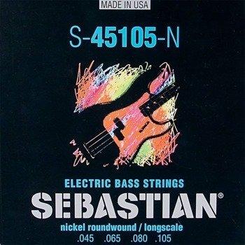 struny do gitary basowej SEBASTIAN S-45105-N NICKEL WOUND /045-105/